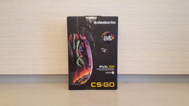 Steelseries rival 300 hyper beats edition (new with box) в Баку