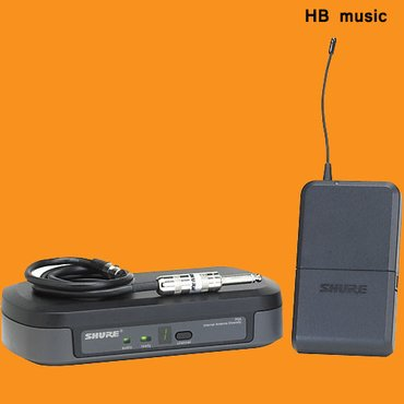 Bakı şəhərində Shure pg 14e gitara üçün kabelsiz mikrafon sistemi.