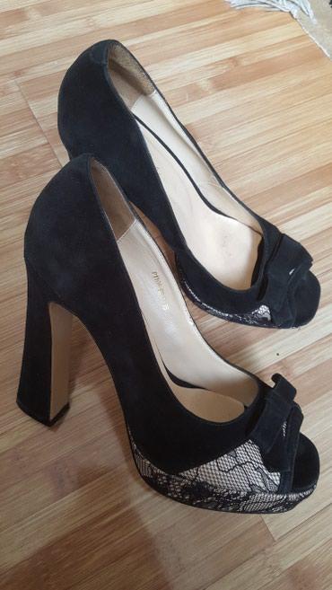 Оригинальные женские туфли. Замшевые в Бишкек
