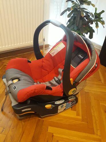 Autosedista - Srbija: Autosediste i nosiljka za bebe, koriscena za jedno dete,potpuno ocuvan