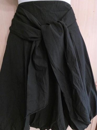 женские леггинсы со вставками в Азербайджан: Юбка со складками впереди широкий пояс который завязывается Фирма Кит