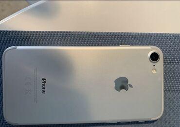 айфон 7 цена в оше in Кыргызстан | APPLE IPHONE: IPhone 7 | 32 ГБ | Серебристый Б/У | Гарантия, Отпечаток пальца, С документами