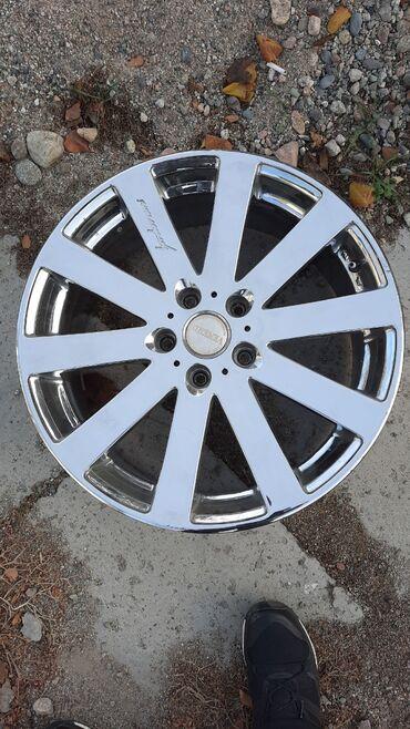 диски на бмв 5 стиль в Кыргызстан: Диски Хром VENERDI. 18 диаметр. 5/114 ширина 7,5, Вылет 48мм. Без