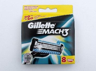 Ostalo - Pancevo: Gillette Mach 3 sa osam uložakaPotpuno novo u originalnom