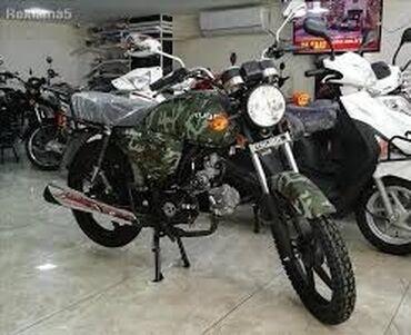 Motosiklet və mopedlər - Azərbaycan: Skuter Kuba X Boss Haki
