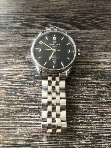 Серебристые Мужские Наручные часы Certina