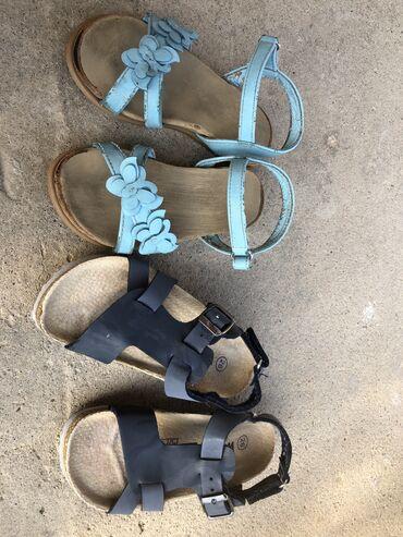 Dečije sandale 26 i 27 cena 500 din za oboje