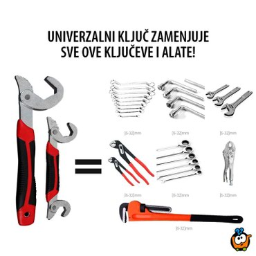 2 univerzalna kljuca ( 2 kljuca ceo alat ) - Nis
