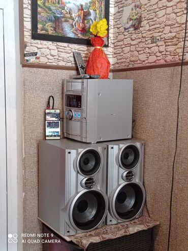 музыкальный центр panasonic в Азербайджан: Salam.Panasonic musiqi mərkəzidi ideal vəzyətdədi heç bir problemi