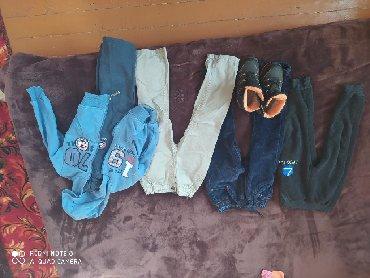 детские спортивные костюмы в Кыргызстан: Продаю штаны, спортивный костюм и зимние ботиночки для мальчика