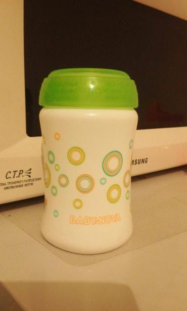 Бутылочка без сосочки,можно вставить любую силиконовую. в Бишкек