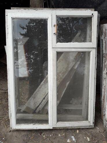 ustanovka windows s vyezdom na domu в Кыргызстан: Продаю деревянные окна 6 шт двух сторонные стекла, все стекла на месте