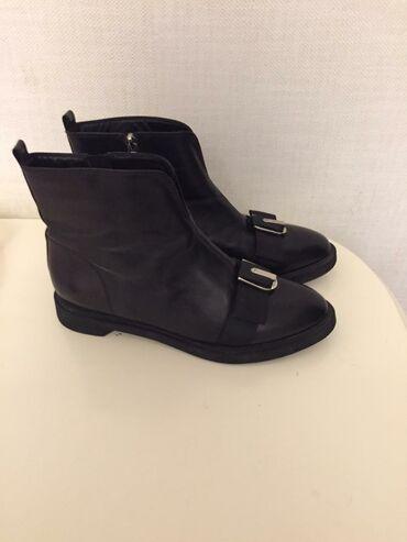 Продается полу сапожки кожаные Maria Moro, итальянские