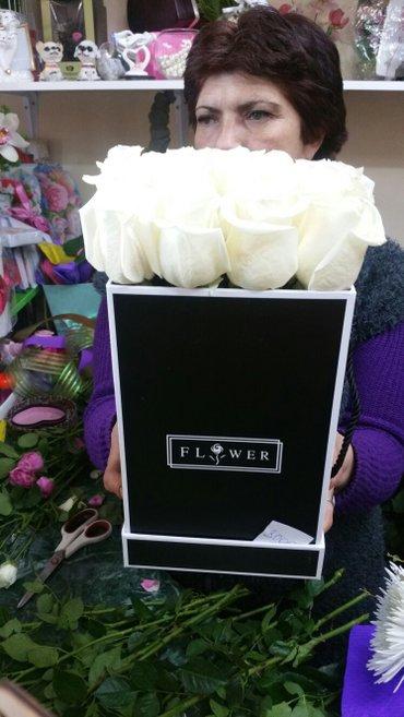 Шляпные коробки с цветами на любой в Лебединовка