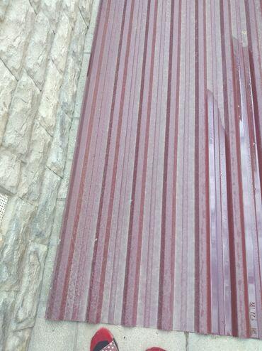 Metal məhsulları - Azərbaycan: Dam ortuyu uzunu 4m80 eni 1m 16 tezedir evden artiq qalib ucuz verilir