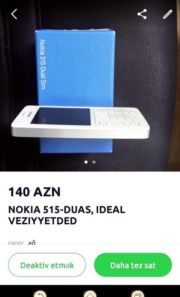 Bakı şəhərində Nokia 515 duas