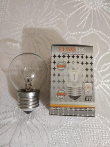 Продаю лампочки накаливания 60w (шарики и свечки), производство Россия в Бишкек