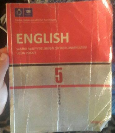 - Azərbaycan: İngilis dili test tapşırıqları. 5ci sinif.2014 ci il Qiyməti: 3 manat