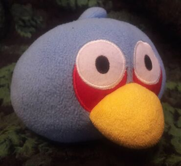 Мягкая игрушка птица Энгрибёрдц. Находятся в мрн. Аламедин-1
