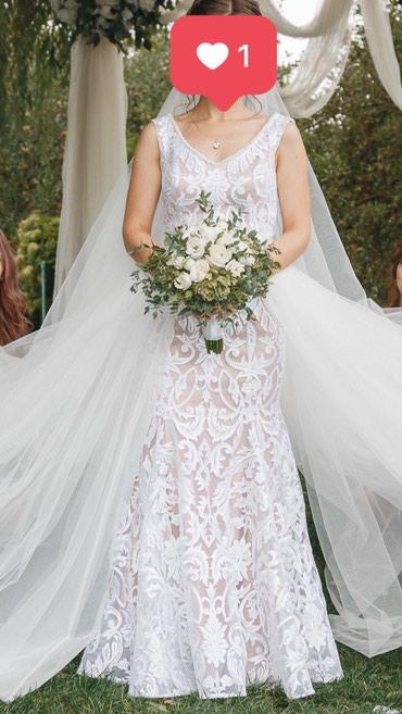 Свадебное платье трансформер, сшито на заказ, одевала только на свою