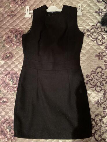 Платье из тонкого твида