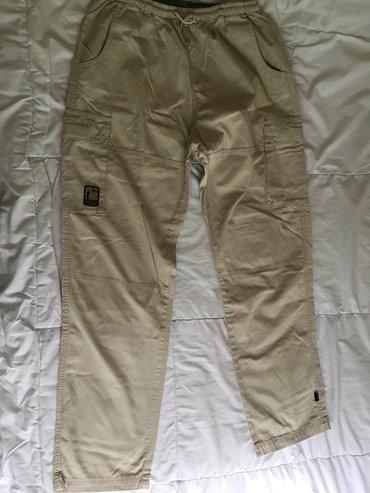 Pantalone, veličina l. Bez oštećenja, obučene par puta. - Uzice