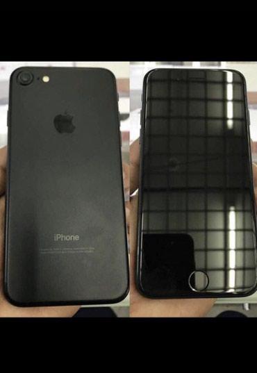 Продаю Iphone 7 Jet black 128gb состояние отличное в Бишкек