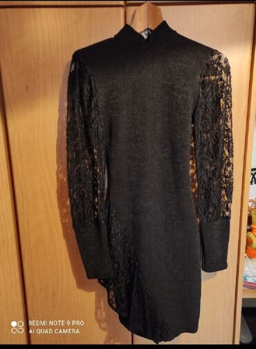 Size small ελαστικό φόρεμα μίνι με δαντέλα