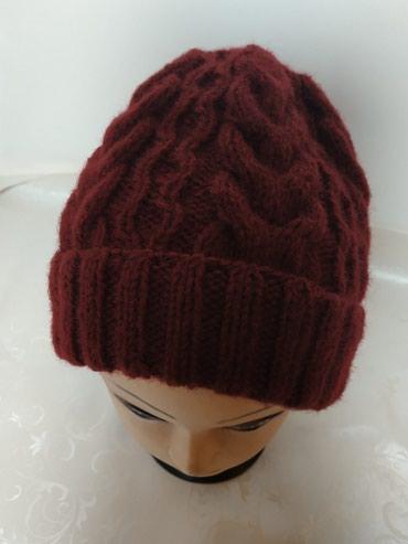 Зимняя шапка ручная работа 600 сом доставка по городу бесплатно в Бишкек