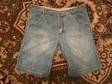 Мужские джинсовые шорты из хлопка. в Лебединовка