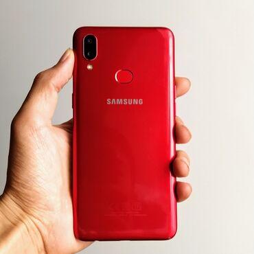 работа доставщика в бишкеке в Кыргызстан: Б/у Samsung A10s 32 ГБ Красный