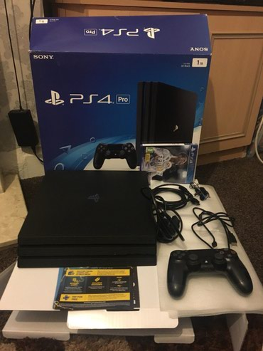 Ps4 pro 500gb 1TB comes with 7 free games and 4 controller in Putalibazar