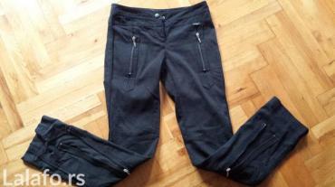 Kao nove p.s fashion pantalone crne, prelepo stoje uske sa zipovima - Jagodina