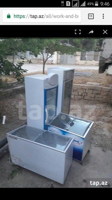 Bakı şəhərində Turkiyenin ugur firmasi vitirin ve dondurucular ela veziyetde