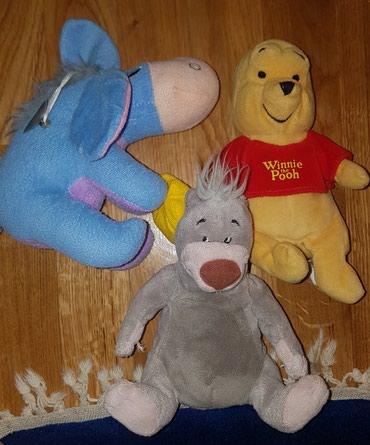 Disney plisane igracke - meda Balu iz Moglija, Vini Pu, Praslin. cena - Belgrade