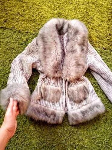 Prelepa bunda od vestavkoh krzna!