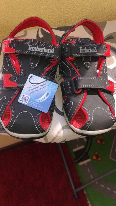 Детская обувь в Кыргызстан: Сандали фирмы Timberland 34.35 размер привезла из США