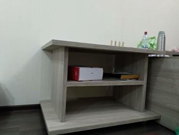 Стол журнальный, 1000×700, высота 675, на роликах(силиконовых) в Бишкек