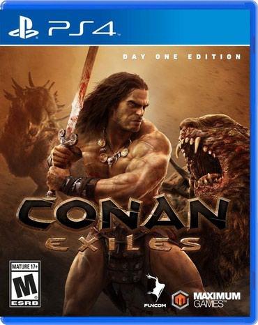 Bakı şəhərində Ps4 ucun Conan Exiles oyunu teze upokovkada orginal catdirilma pulsuz