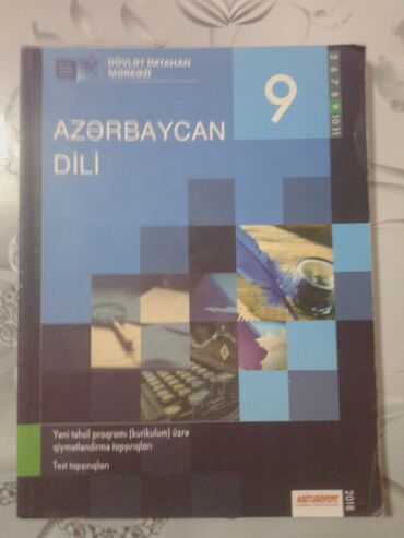 Azərbaycan dili.9-cu sinif testi DİM 2018Yaxşı vəziyyətdədir.Çox az