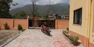 A beautiful flat having 2 attached bedrooms, 1 common living dinning in Kathmandu