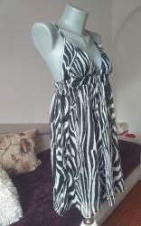 Zebrasta haljina H&M 40 - Kraljevo