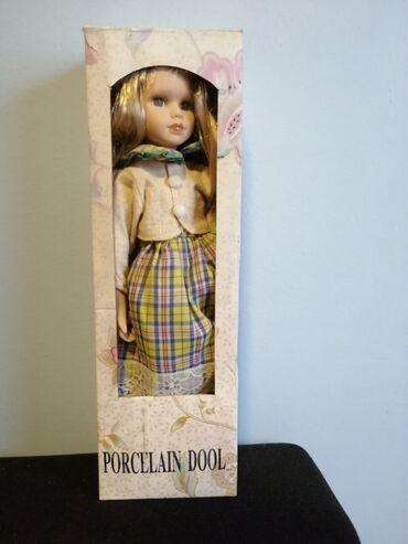 Porcelan - Srbija: Porcelanska lutka - Nova, neotpakovana porcelanska lutka, stanje kao n
