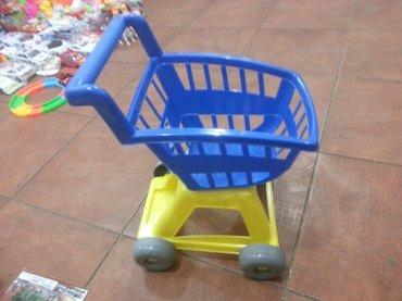 Xırdalan şəhərində Usaqlar ucun market arabasi firma istesalidi kefiyetli plastikden