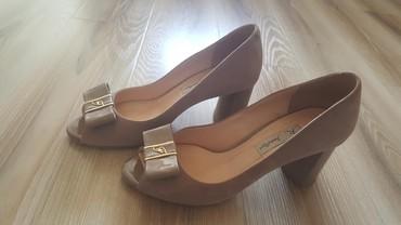 замшевые туфли бежевого цвета в Кыргызстан: Женские туфли 37