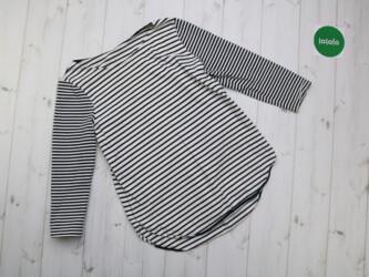Женская блузка в полоску     Длина: 67 см Пог: 40 см Рукава: 48 см Пле