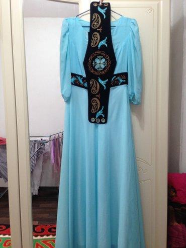 Дизайнерское платье от janara chyngyshova! размер s-m в Бишкек
