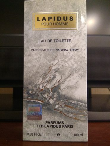 pour toujours - Azərbaycan: Ted Lapidus Pour Homme 100 ml Usa, New York