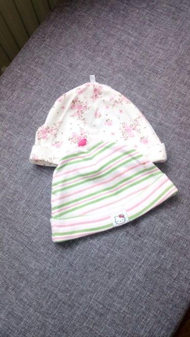 Ostala dečija odeća | Sabac: Kapice 62 i 68 kom 150