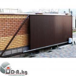 Ворота откатные Откатные ворота и автоматика - купить в Бишкеке